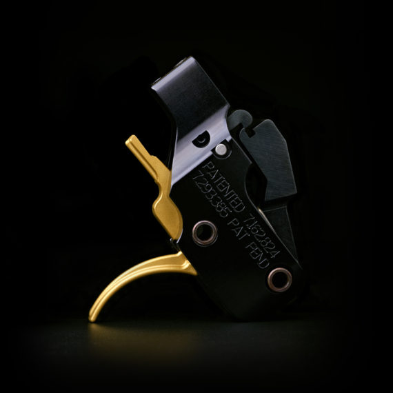 ATC AR Gold Adjustable Curved Drop-In AR-15 Trigger