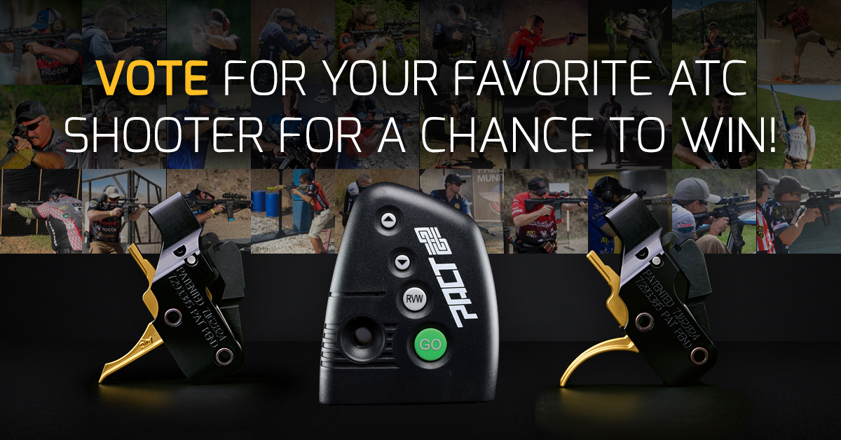 Vote for your Favorite ATC Shooter for a chance to win!