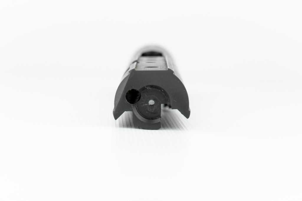 This is the most common AR configuration PCC breech-bolt, which is used by several brands of PCC